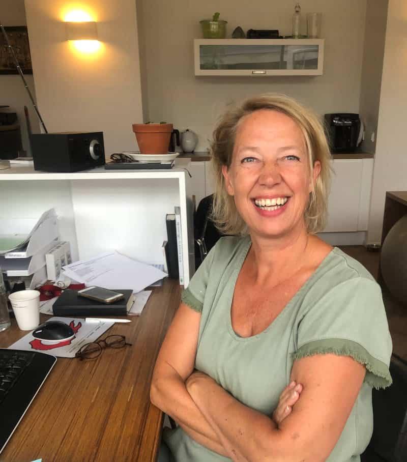 Jacqueline. Sales manager van vergaderlocatie Depot Noord Jacqueline Blankestijn