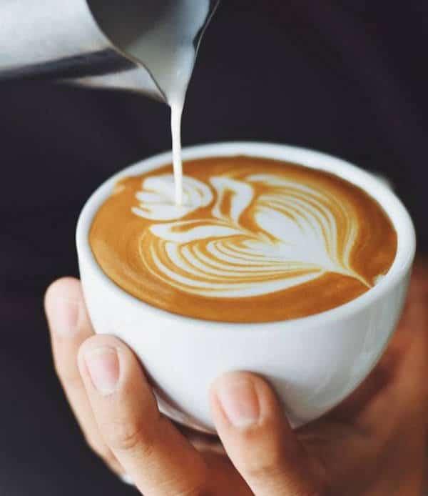 Koffie inschenken met design