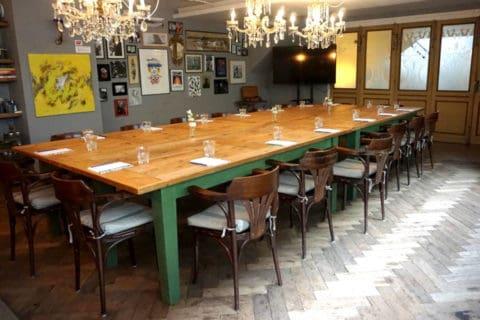 Grote opstelleing van onze Entresol ( meeting Room Rotterdam)