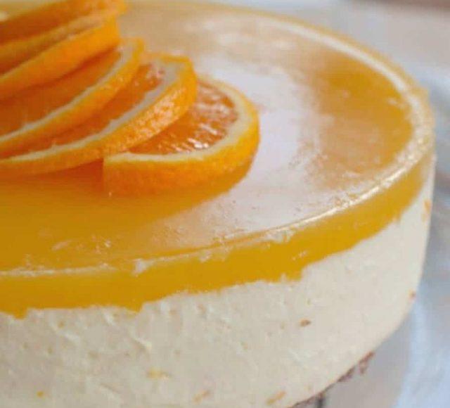 Verse taart met sinaasappel bij trainingslocatie Depot Noord